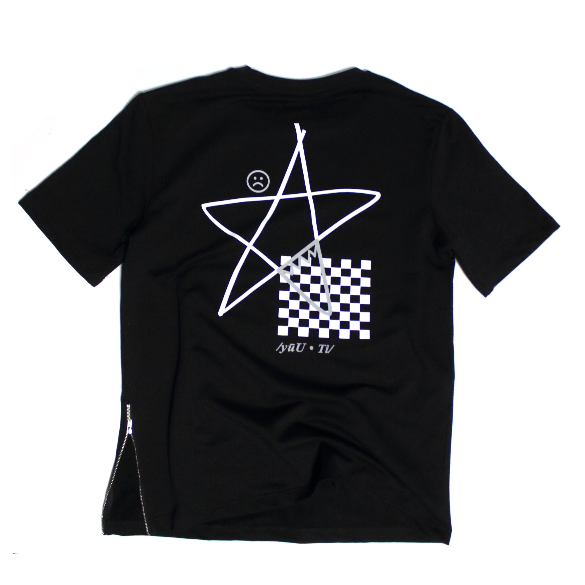 "T-Shirt  ""Hood Star""  - Black"