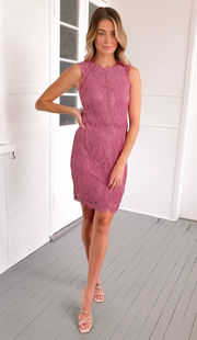 Marianna Dress - Blush