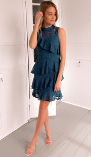 Leah Dress - Teal