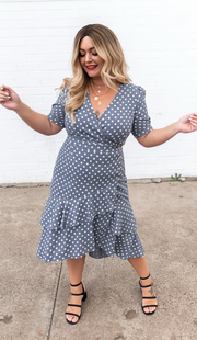 Pia Dress - Chambray