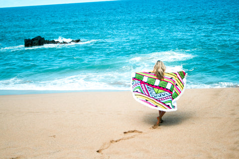 Large Boho Beach Towel