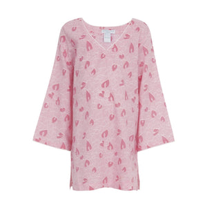 Love Heart Kids Beach Robe
