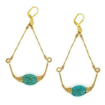 Negar Turquoise Earrings