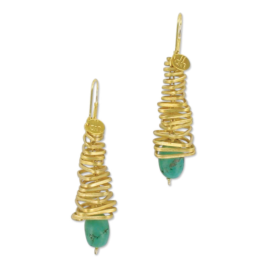 Resort turquoise earrings
