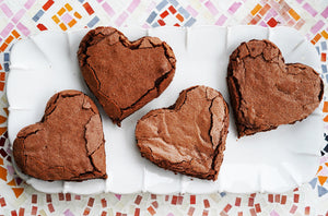 Valentine's Day Fudgey Brownies