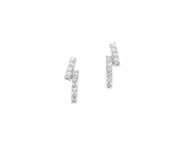 Ashton Asymmetrical Bar Earrings