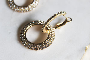 Aurora Circle Hoop Earrings