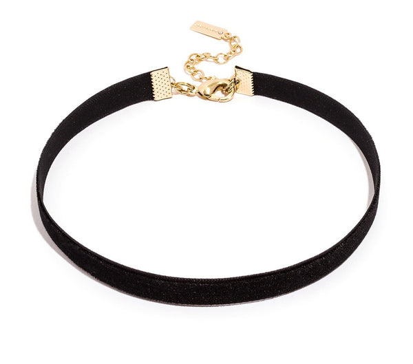 Austen Black Choker Necklace