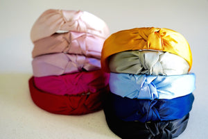 Satin Knotted Headband