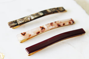 Burgundy Bobby Pin Set