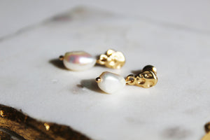Esme Pearl Earrings