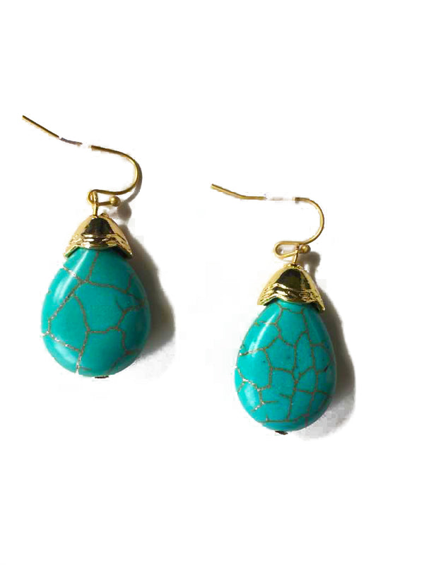 Gen Turquoise Drop Earrings