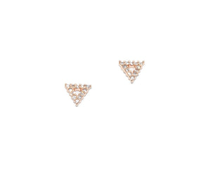 Gigi Tiny Triangle Stud Earrings