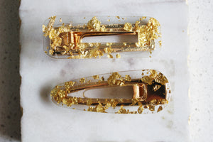 Gold Foil Clip Set