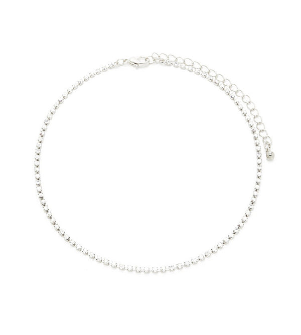 Gwen Crystal Choker Necklace