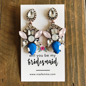 Bridesmaid Gifting Card