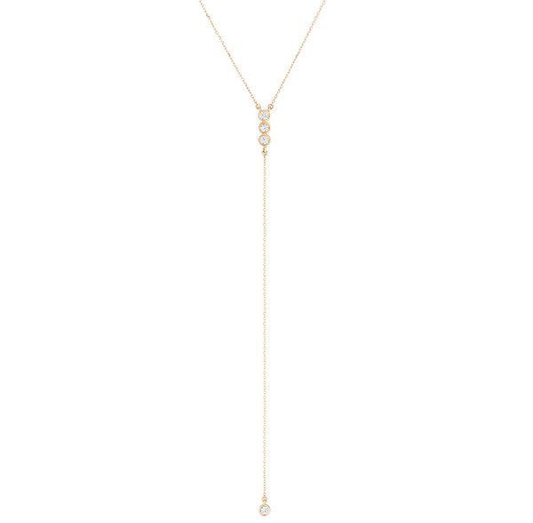 Josephine Lariat Y-Necklace