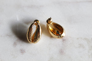 Lana Cowrie Shell Earrings