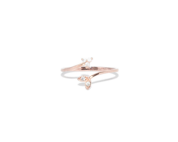 Layla Arrow Wrap Ring