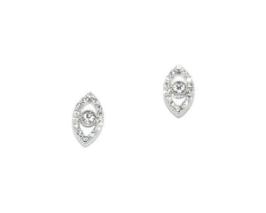 Emerson Evil Eye Stud Earrings
