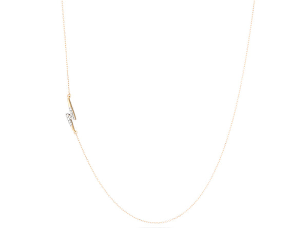 Olympia Lightening Bolt Necklace