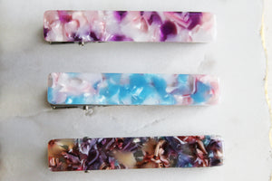 Pastel Bar Clip Set