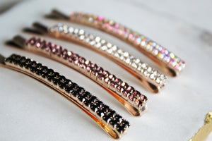 Rhinestone Bobby Pin Set