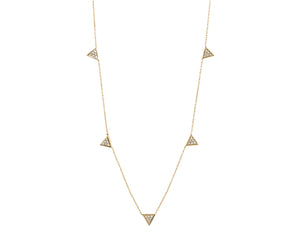 Romy Triangle Necklace