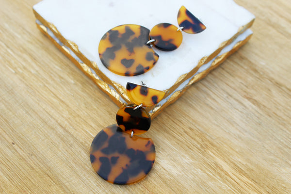 Rowan Tortoise Shell Earrings