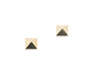Ryan Pyramid Stud Earrings