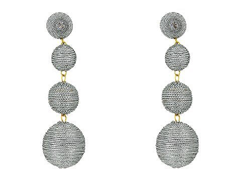 Sabrina Four Ball Drop Earrings