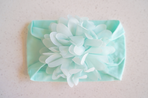 Chiffon Flower Stretchy Headband