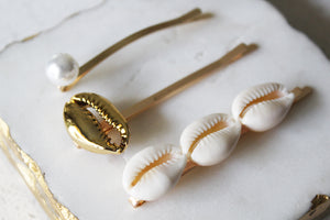 Seashells Bobby Pin Set