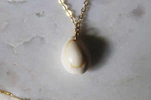Summer Cowrie Shell Necklace