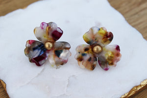 Tallulah Flower Stud Earrings