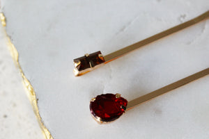 Warm Gem Bobby Pin Set