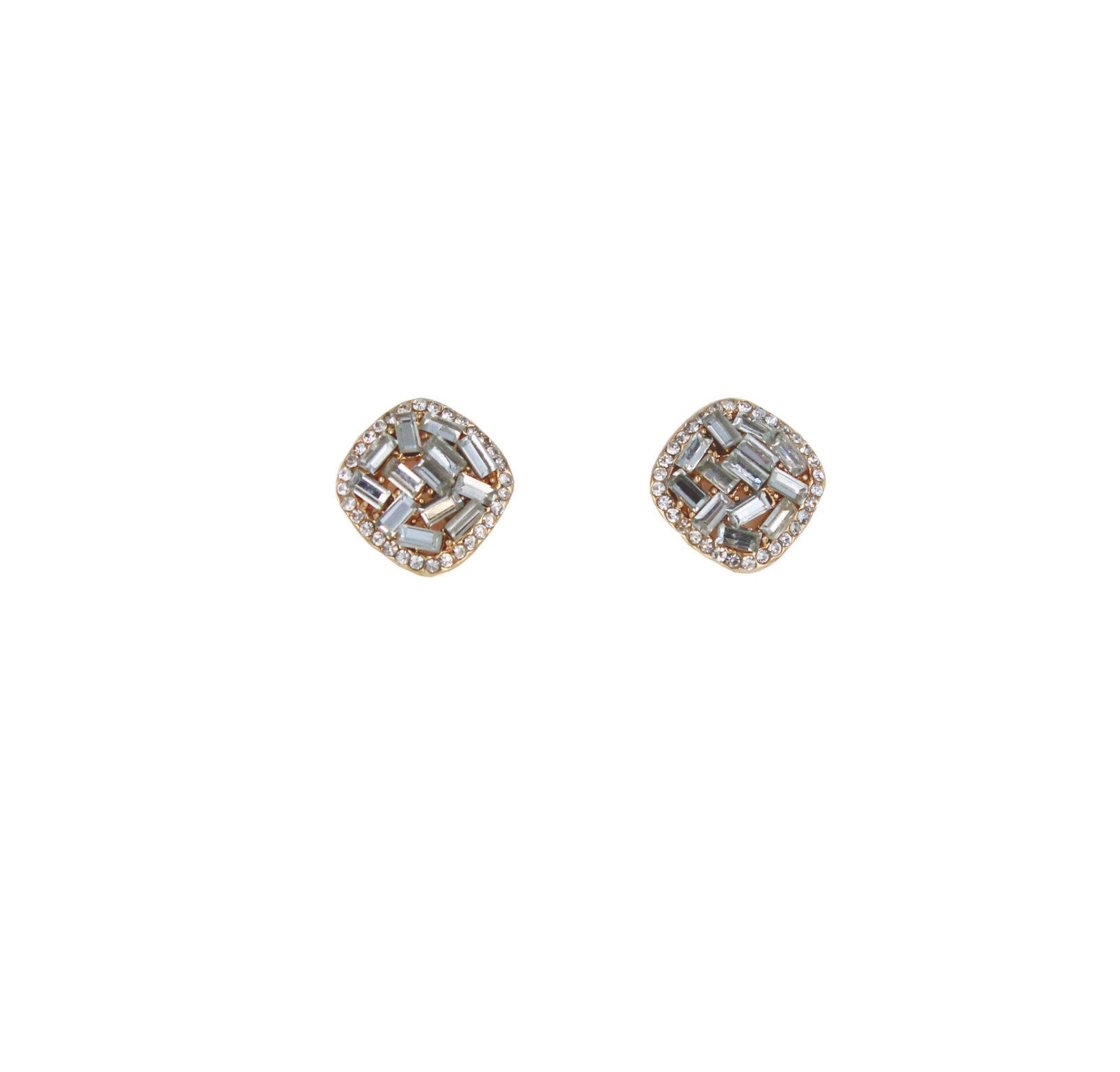 Chloé Sparkly Square Stud Earrings