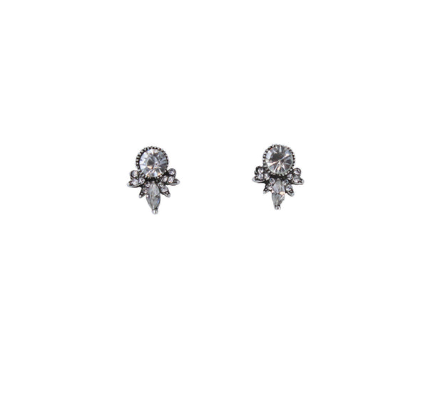 Cece Silver Stud Earrings