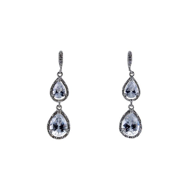 Isabel Pear Drop Earrings