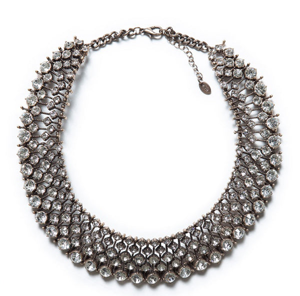 Monroe Crystal Statement Necklace