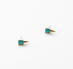 Shay Tiny Spike Stud Earrings