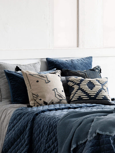 Aviary Cushion - Indigo Cushion 2020