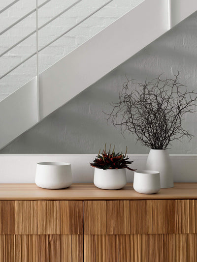 Mona Pot Trio - Black Planter 2020