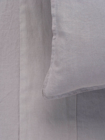 Mondo 100% French Linen Sheet Set - Smoke Sheet Set L&M Home