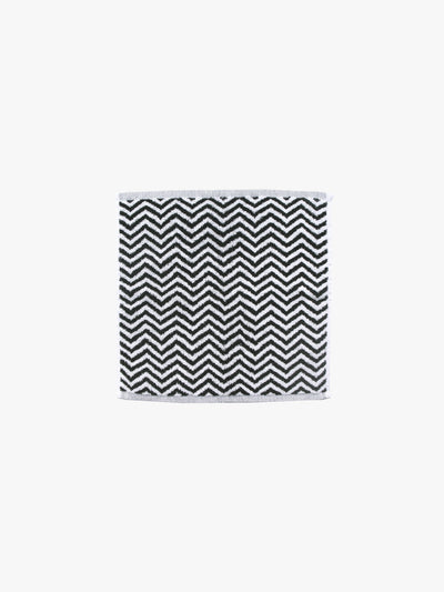 Herringbone Black/White Towels Cool Galah L&M Home Face Towel