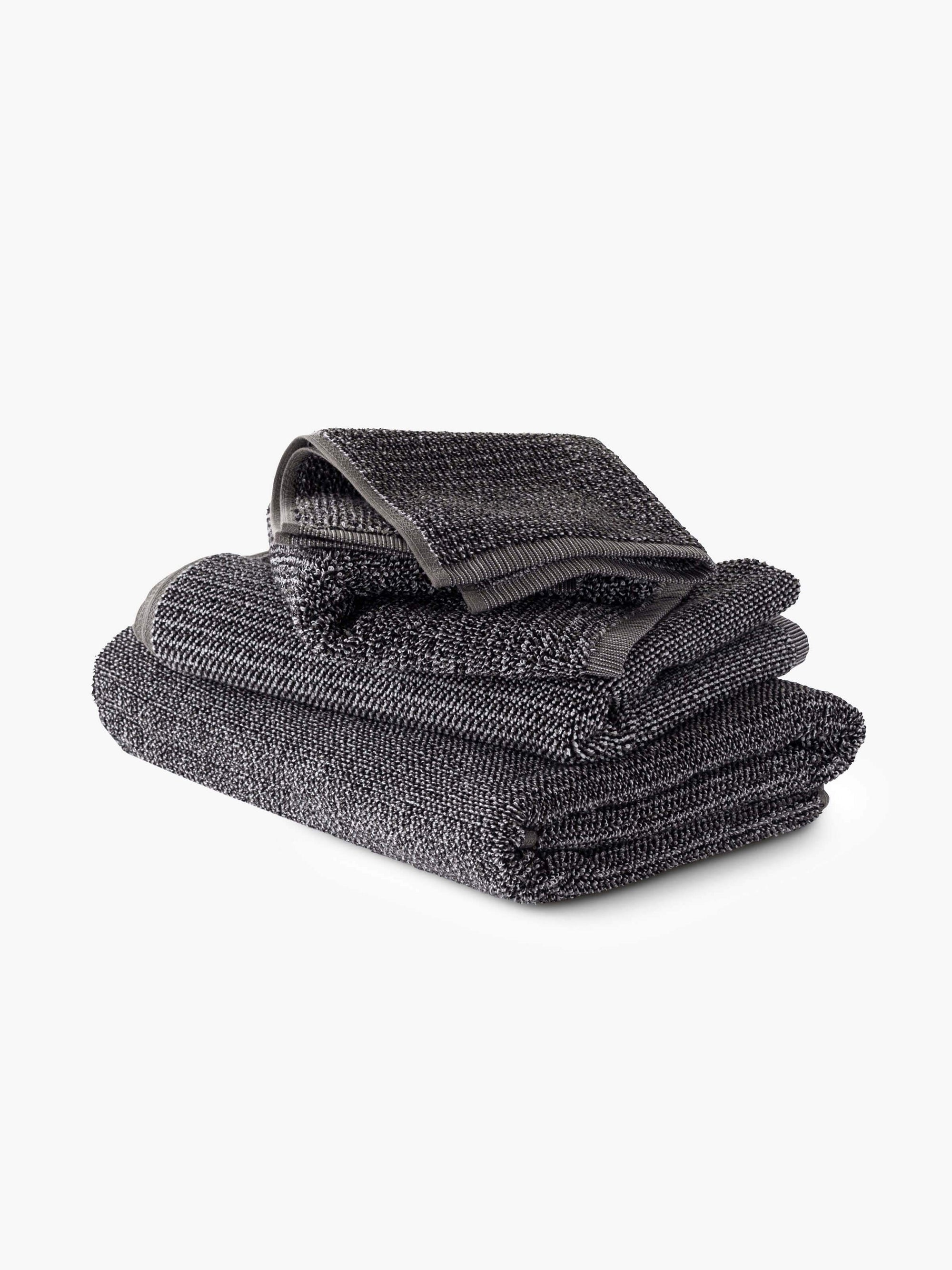 Tweed Coal Towels Cool Galah L&M Home