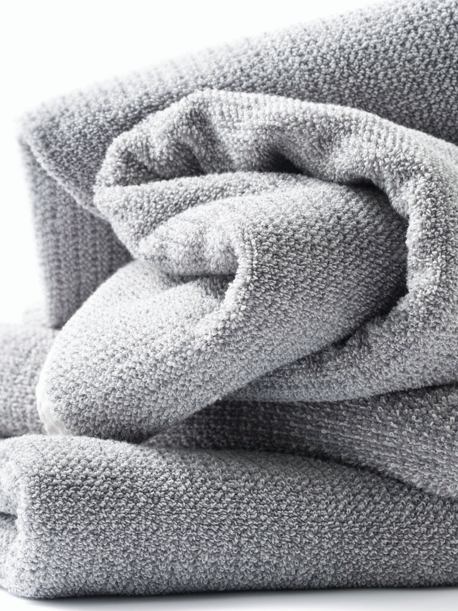 Tweed Grey Towels
