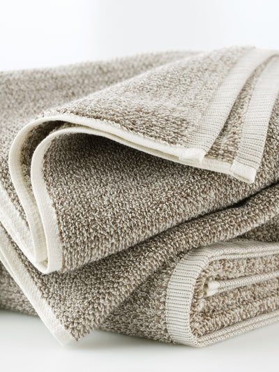 Tweed Light Towels Cool Galah L&M Home