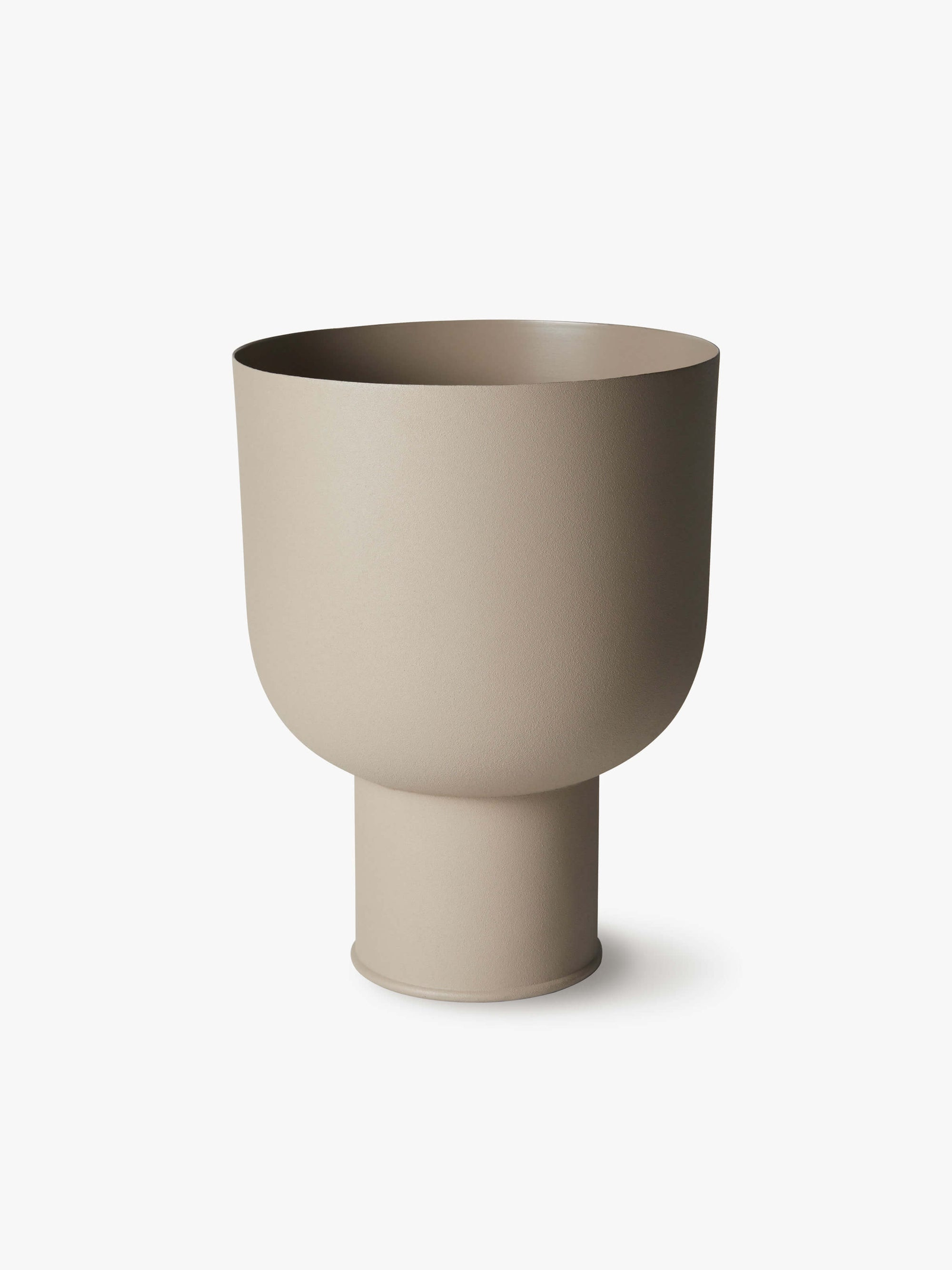 Mona Curve Planter - Latte Planter Summer 21 Small