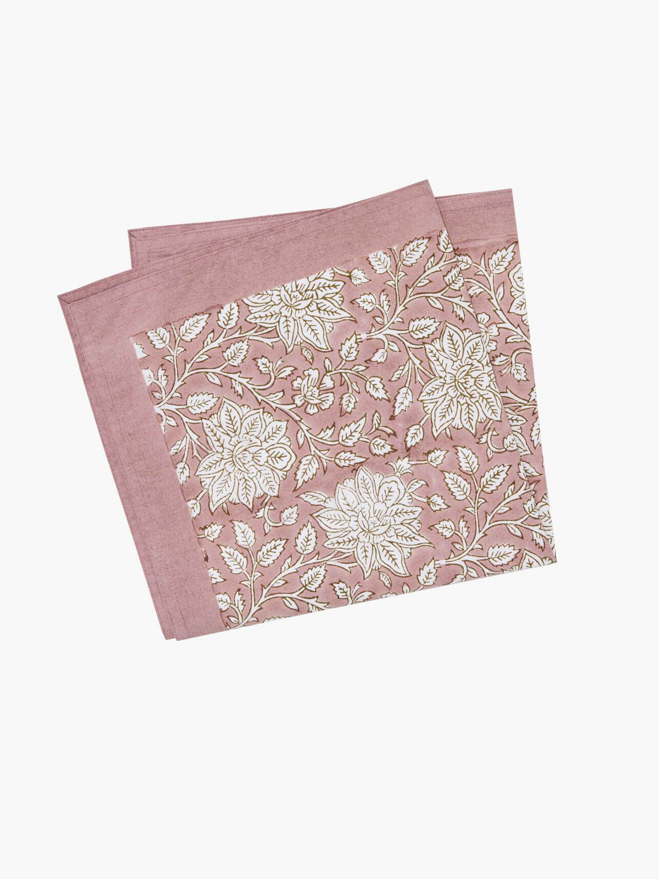 Sienna Napkin Set - Blush Napkin Set Summer 21